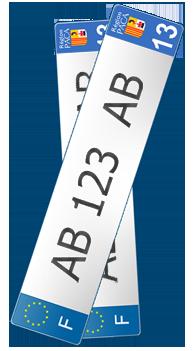 Plaques D Immatriculation Sans Carte Grise Macartegrise Enligne Fr
